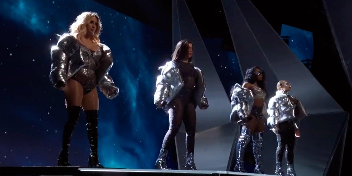 Fifth Harmony en la gala de los MTV VMAs 2017