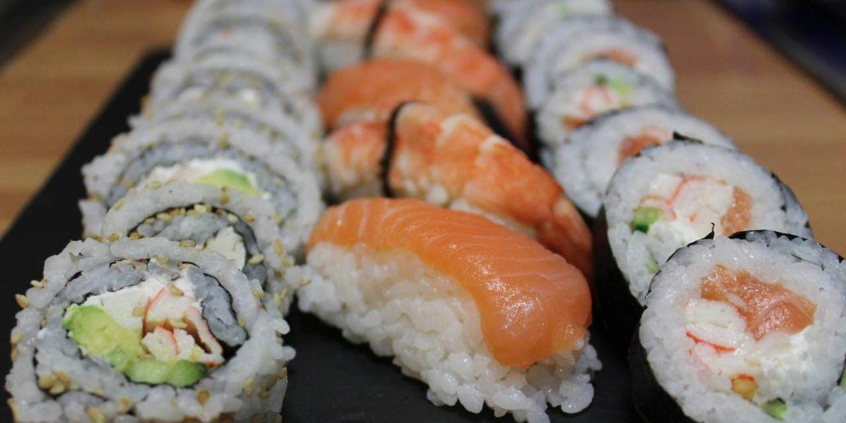 La Cocina del Pirata - Truco para hacer Nigiris de Salmón Sushi Fácil y Rápido