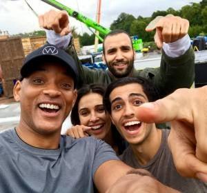 Los protagonistas de la nueva película de Aladdin