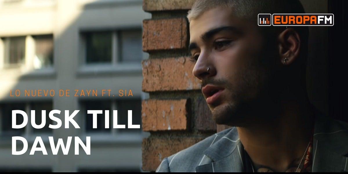 Zayn en el videoclip de 'Dusk Till Dawn', su colaboración con Sia