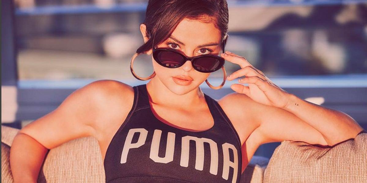 Selena Gomez es la nueva imagen y diseñadora de Puma