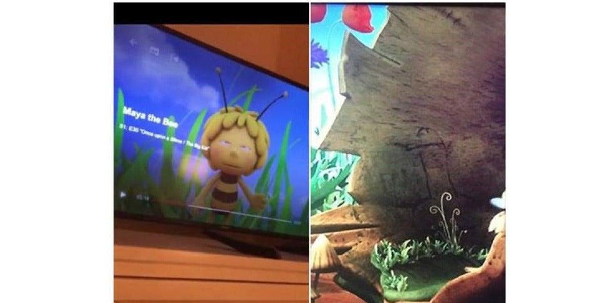 Netflix retira un capítulo de La abeja Maya en la que aparece un pene