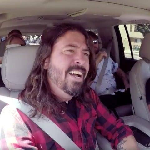 Foo Fighters en su Carpool Karaoke con James Corden
