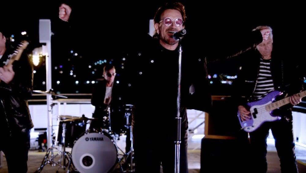 U2 estrena el videoclip de su single 'You're The Best Thing About Me'