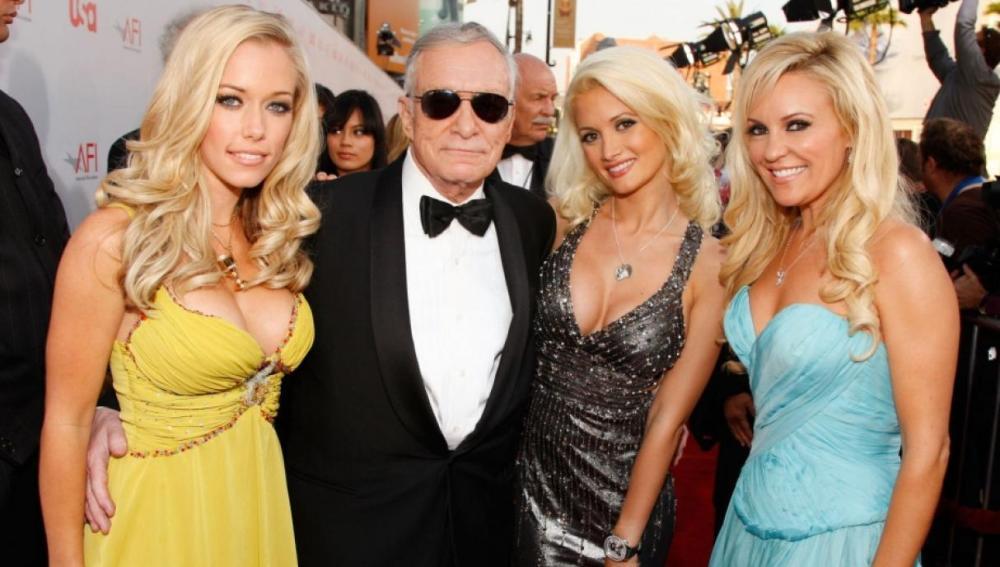 Hugh Hefner, el fundador de Playboy