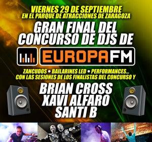 Final del I Concurso de DJ Europa FM Aragón