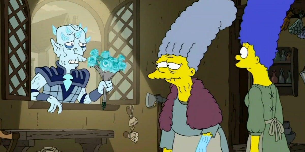 Los Simpson homenajean e Juego de Tronos