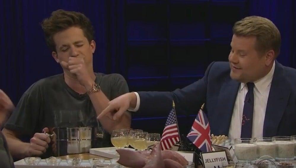 Charlie Puth y James Corden
