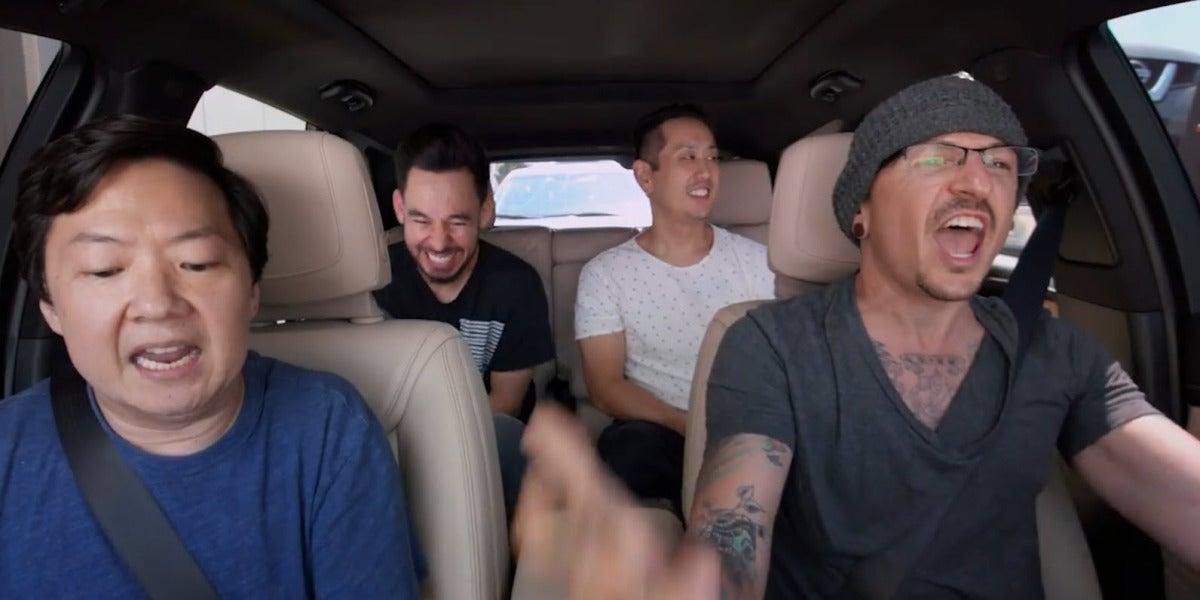 Linkin Park grabó el Carpool Karaoke seis días antes de la muerte de Chester Bennington