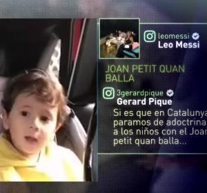 El hijo de Leo Messi, en un vídeo colgado por su padre