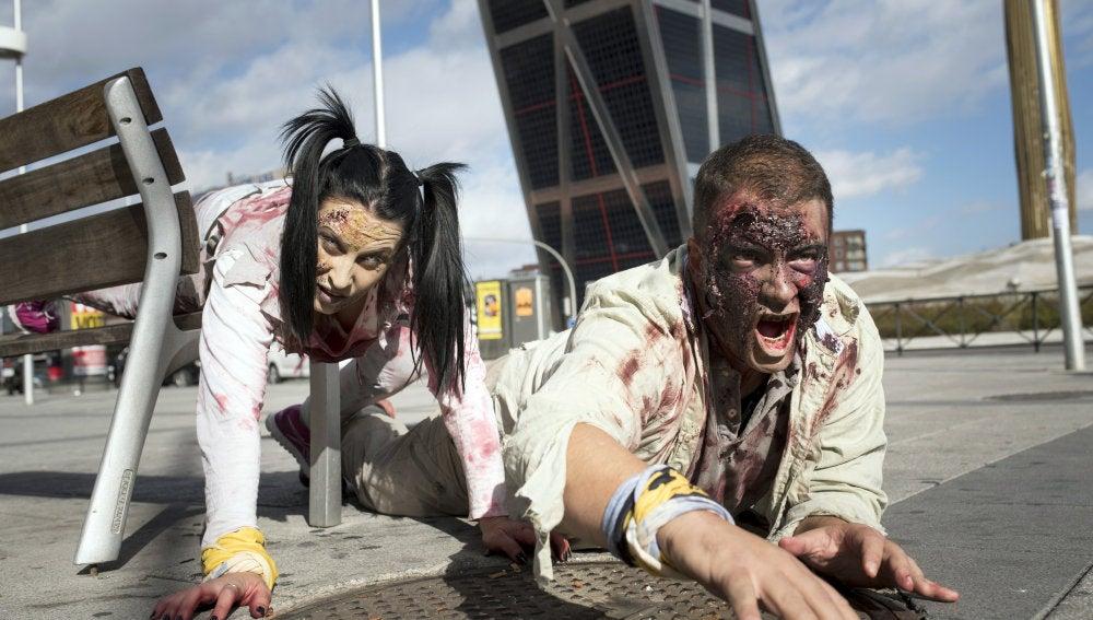 Apocalipsis zombie en Madrid