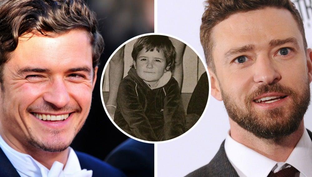 Orlando Bloom o Justin Timberlake, ¿quién es este pequeño?