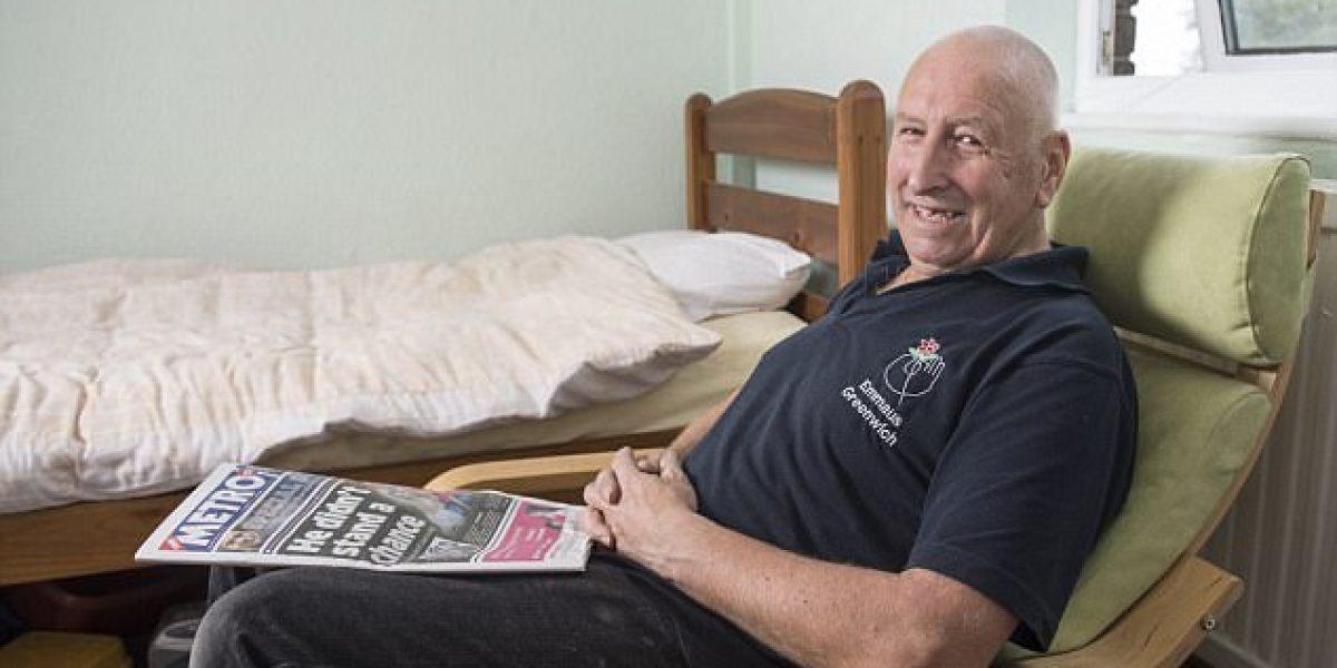 Malcom Applegate pasó 10 años en un bosque