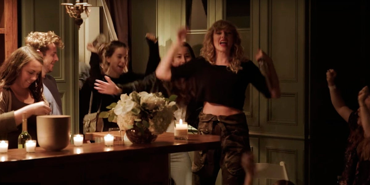 Taylor Swift en las 'secret sessions' con sus fans