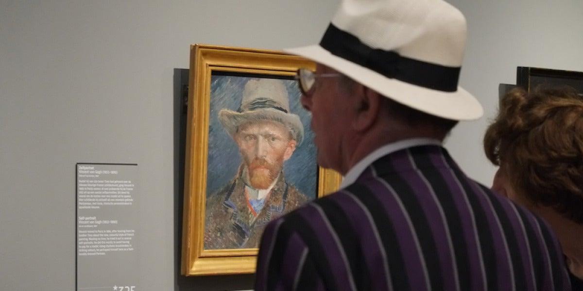 Insectos, polvo y granos de arena acababan incrustados en los cuadros de Vincent Van Gogh