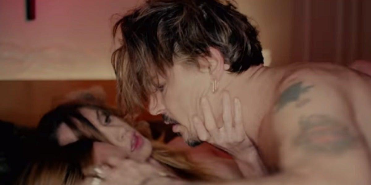 Johnny Deep en el videoclip de Marilyn Manson