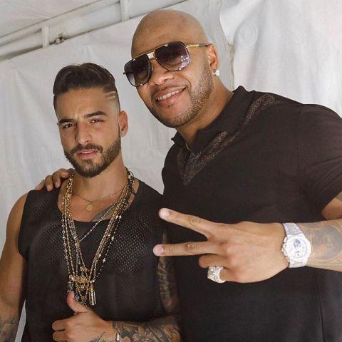 Maluma y Flo Rida presentan 'Hola'