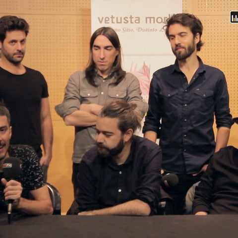Vetusta Morla durante la entrevista con Europa FM