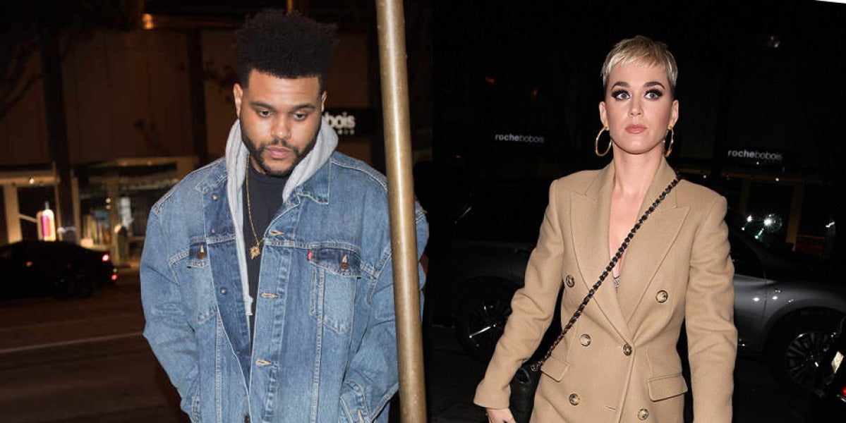 The Weeknd y Katy Perry cenaron juntos en West Hollywood