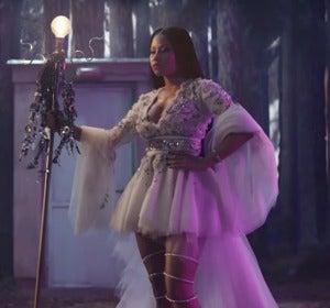 Nicky Minaj en la campaña para H&M