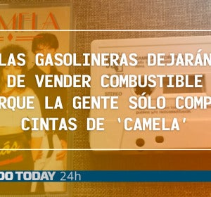 El Mundo Today - Las gasolineras dejarán de vender combustible porque la gente sólo compra cintas de 'Camela' - We Sound