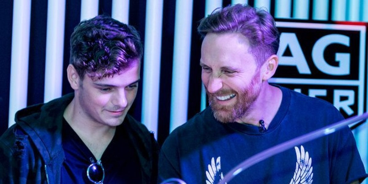 Martin Garrix y David Guetta