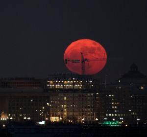 Washington y la superluna (04/12/2017)