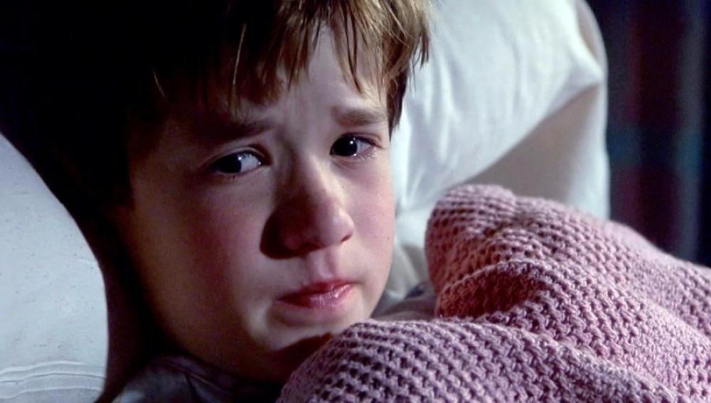 Haley Joel Osment en 'El sexto sentido'