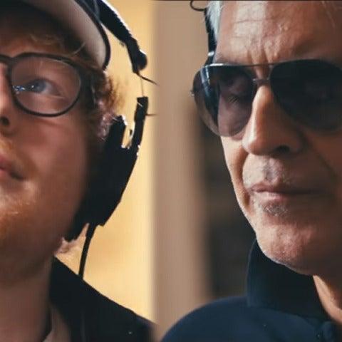 Ed Sheeran y Andrea Bocelli estrenan 'Perfect Symphony'