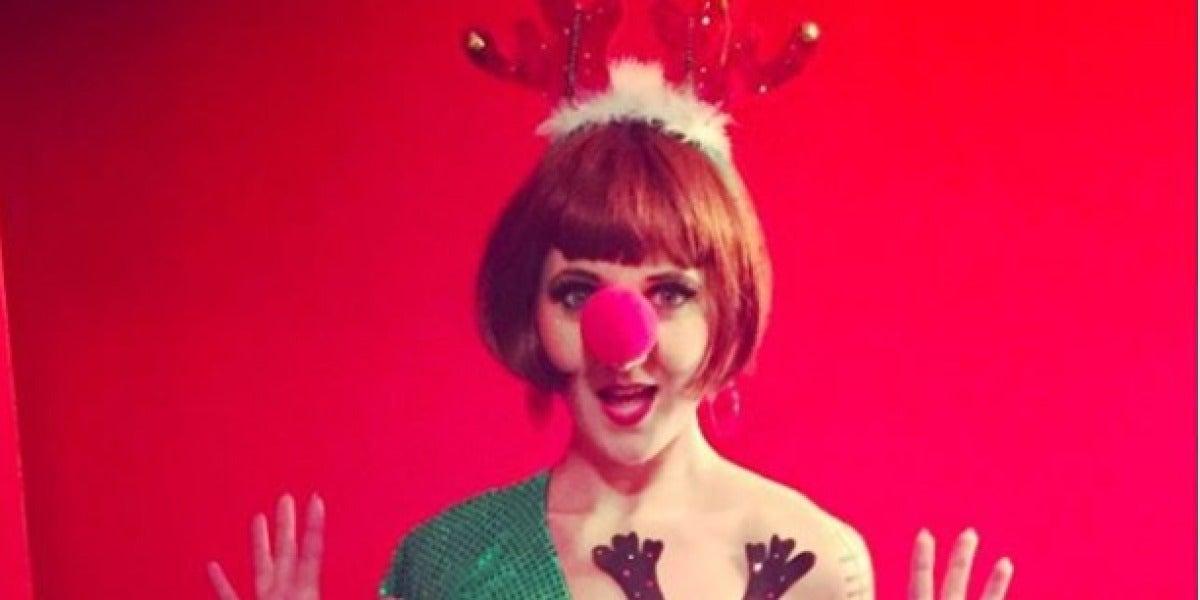 La 'teta reno', nueva tendencia navideña en Instagram