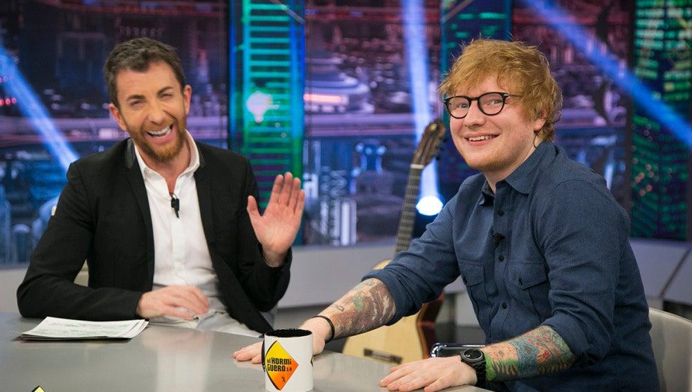 Ed Sheeran cuenta en 'El Hormiguero 3.0' sus accidentes más escabrosos