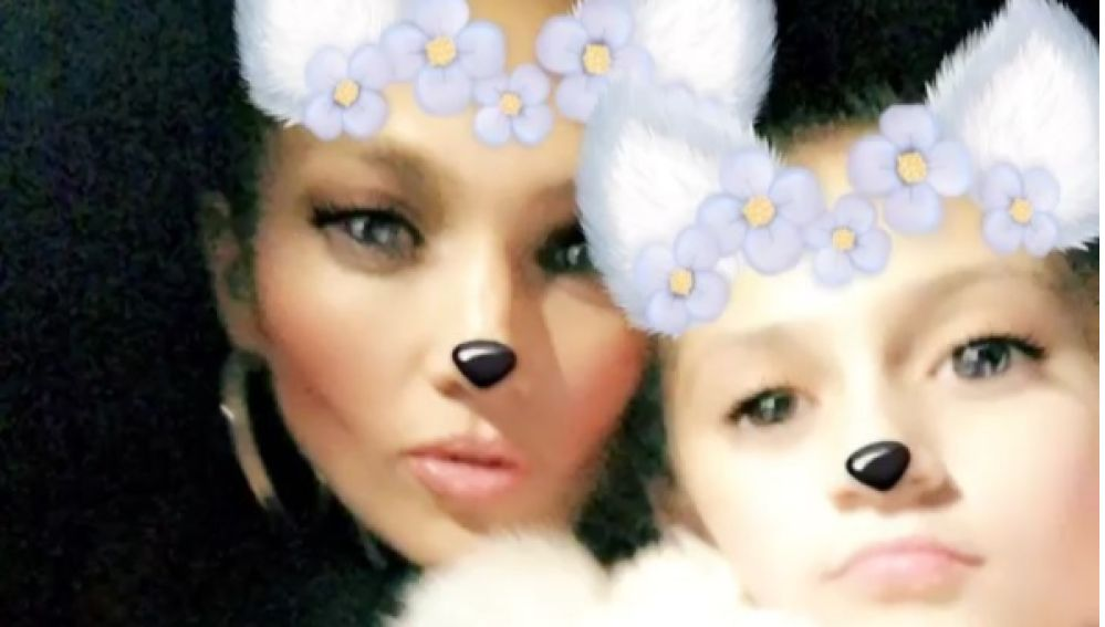 Jennifer López y su hija Emme