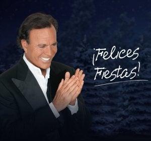 Julio Iglesias felicita la Navidad a sus seguidores