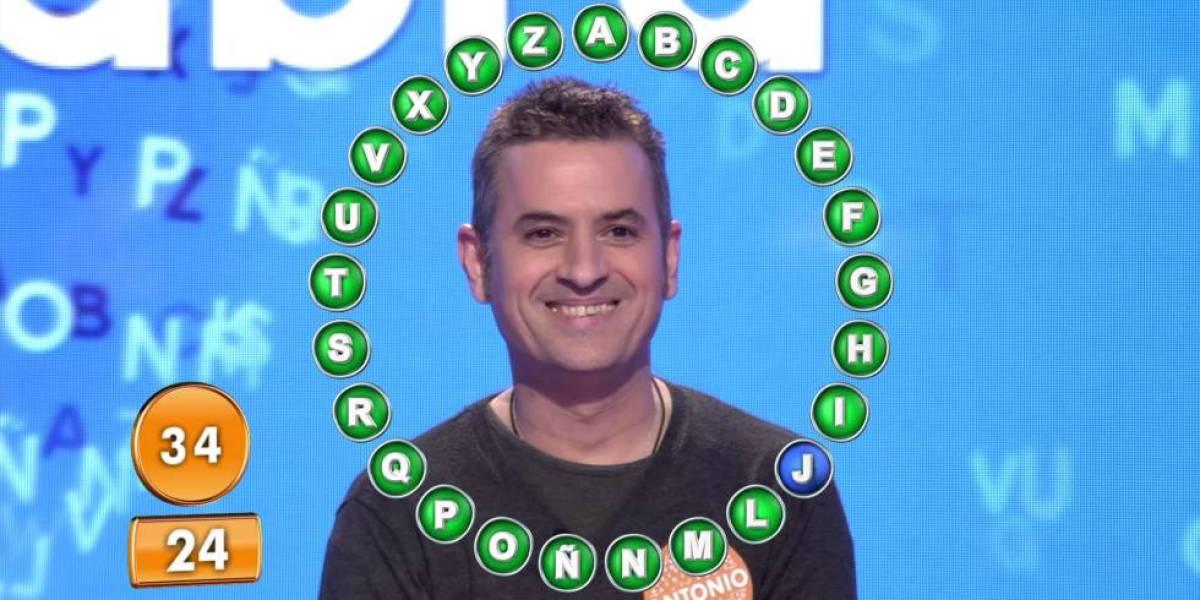 Antonio Ruiz gana Pasapalabra
