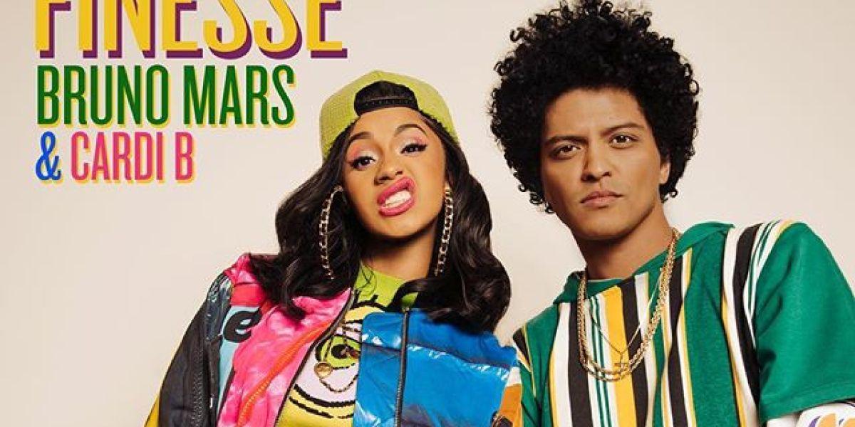 Cadi B y Bruno Mars lanzan el remix de 'Finesse'