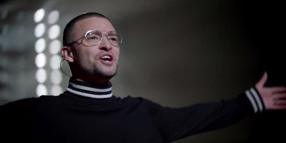 Justin Timberlake en el videoclip de 'Filthy'
