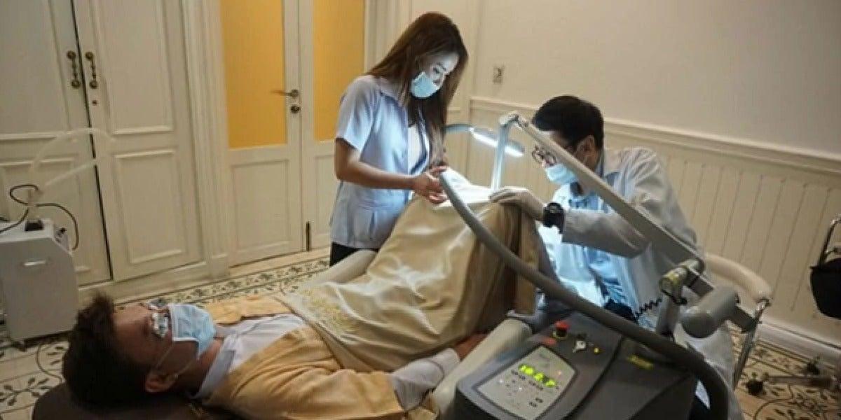 Tratamiento de blanqueamiento de pene