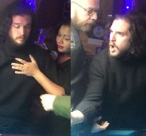 Kit Harington, expulsado de un bar borracho