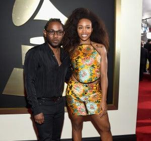 Kendrick Lamar y SZA en los Grammy 2016