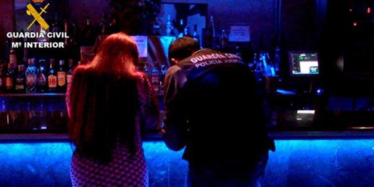 Liberadas dos menores obligadas a prostituirse en un club de alterne de Toledo