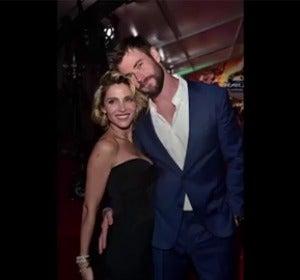 Vídeo: Elsa Pataky y Chris Hemsworth publican el mismo vídeo de su hijo pero a ella le critican y a él le aplauden