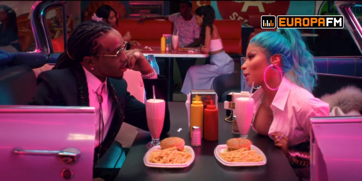 "Nicki Minaj y Quavo estrenan video noventero con ""She For Keeps"""