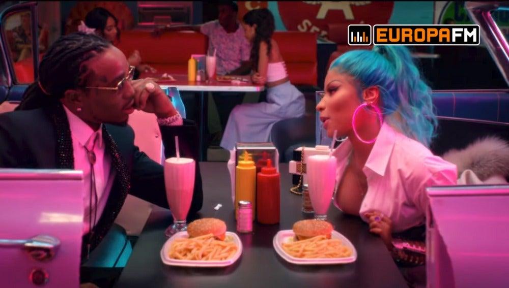 Nicki Minaj y Quavo en 'She For Keeps'