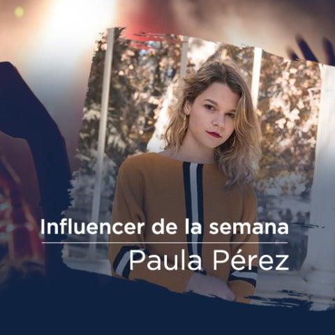 Paula Pérez, la influencer de la semana en We Sound