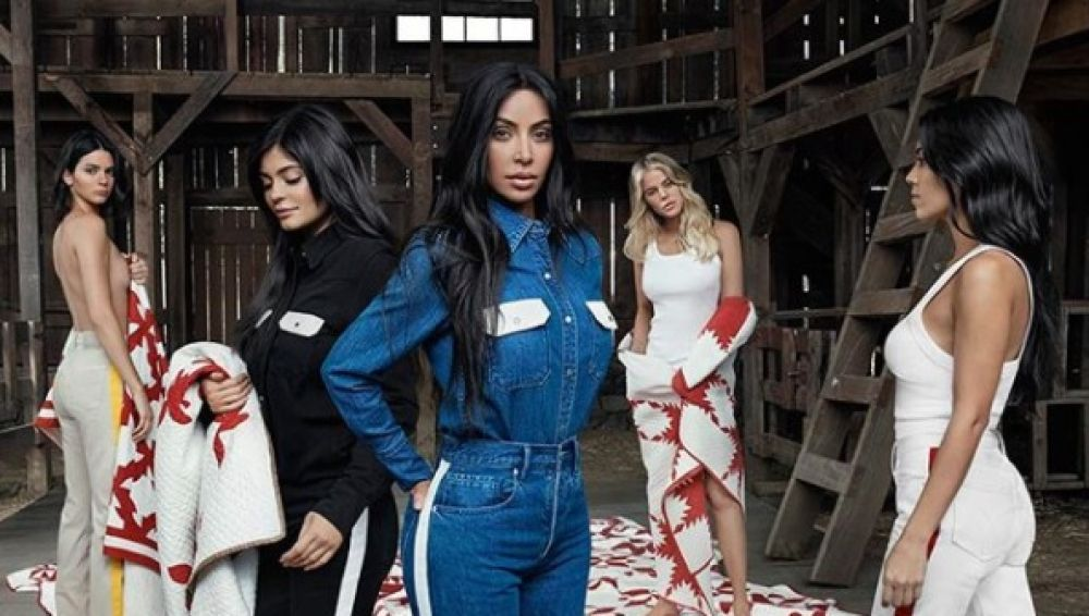 Las Kardashian para Calvin Klein