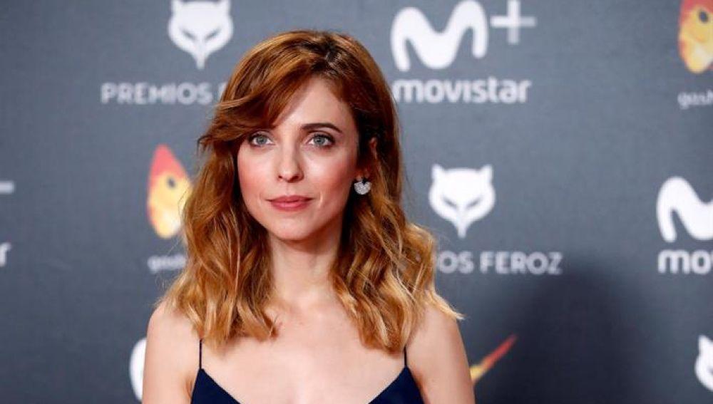 La actriz y directora Leticia Dolera posa a su llegada a la entrega de los premios Feroz