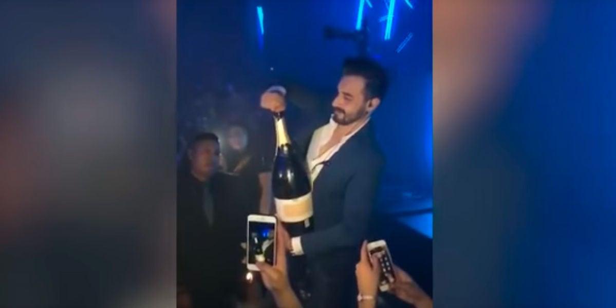 Se le cae una botella de 34.000 euros