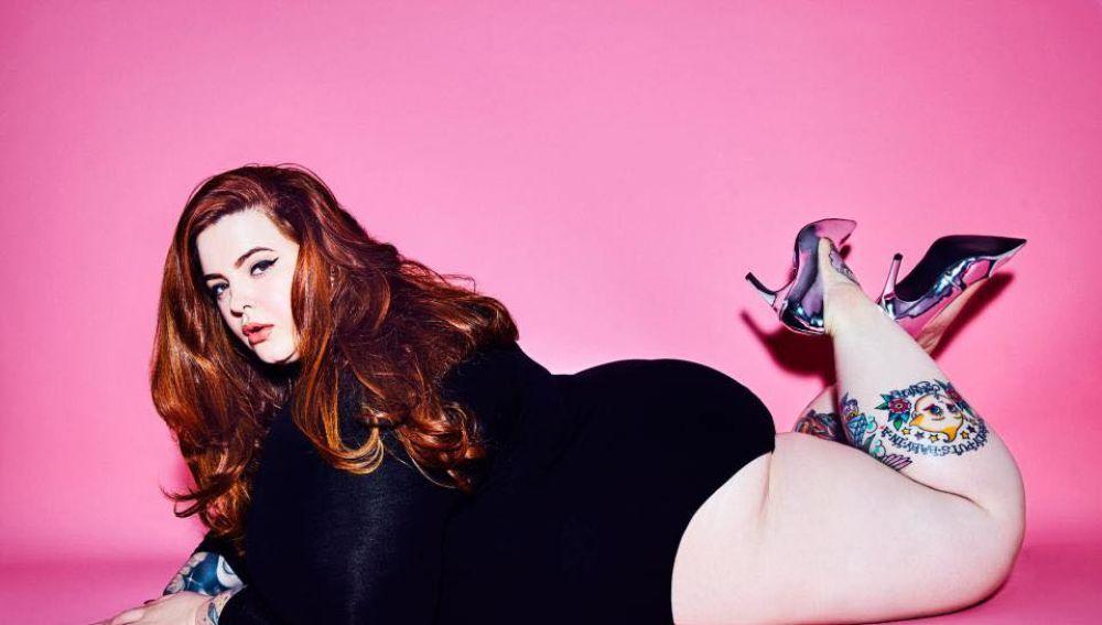 La modelo Tess Holliday