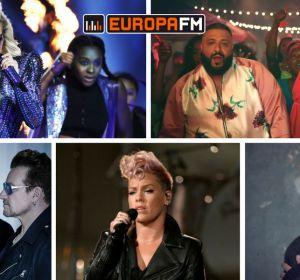 Lady Gaga, DJ Khaled, Rihanna, U2, Pink y Sam Smith, algunas de las actuaciones de los Grammy 2018