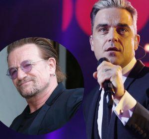 Robbie Williams y Bono